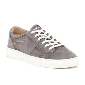 vince camuto suede sneakers